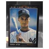 Derek Jeter 1993 Pinnacle Rookie Card #457