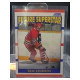 Eric Lindros Hockey Score Rookie Card #440