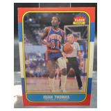 Isiah Thomas 1986 Fleer Card #109 of 132