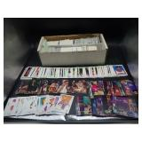 Box of Various Basketball Cards
