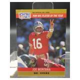 1990 NFL Pro Set Joe Montana #2 Card