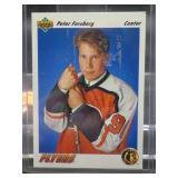 1991-92 Upper Deck Hockey Peter Forsberg Card #64