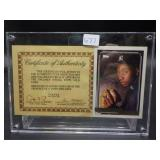 Autographed Card by Brien Taylor 1992 Gold Topps