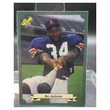 1987 Classic Bo Jackson Rookie Card #15