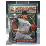 1993 Topps Baseball Finest Card Nolan Ryan #107