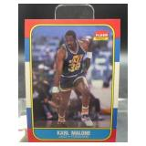 1986 Fleer Karl Malone Card #68 of 132