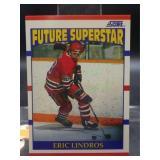 1990 Score Eric Lindros Hockey Rookie Card #440