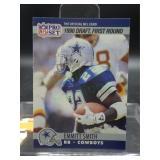 1990 Emmitt Smith NFL Pro Set Rookie Card #685