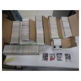 7 Boxes of Various NFL ProSet Cards and subsets