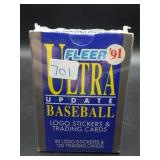 NIP 1991 Fleer Ultra Updated Baseball Set