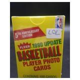 NIP 1990 Fleer Update Basketball Card Set