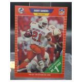 1989 Barry Sanders Rookie Card # 494 NFL Pro Set
