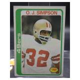1978 O.J. Simpson Topps Card #400