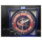 NIB Columbus Blue Jacket WinCraft Wall Clock