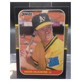 1987 Donruss Mark McGwire Rookie Card #46
