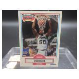 David Robinson Fleer 1990 Rookie Card #172