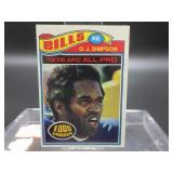 1977 O.J. Simpson Topps Card #100