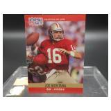 1990 Joe Montana NFL Pro Set Card #293