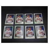 8 1991 Mike Mussina Upper Deck Rookie Cards