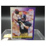 1991 Brett Farve Score Rookie Card # 611