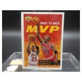 92-93 Upper Deck Michael Jordan Back to Back MVP