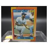 1990 Topps Frank Thomas Rookie Card #414