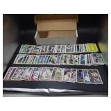 Box with 1991 Topps Baseball Cards