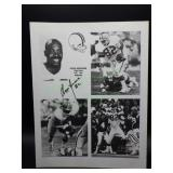 Autographed Ozzie Newsome Cleveland Browns TE