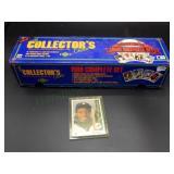 Complete Set of 1989 Upper Deck Baseball Cards