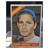 1966 Sandy Koufax Topps Card