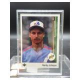 1989 Upper Deck Randy Johnson Rookie Card #25