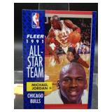 1991 Fleer Michael Jordan All Star Card #211