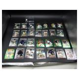 Small Plastic Case with Topps Finest Cards