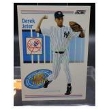 1993 Score Derek Jeter Rookie Card #489