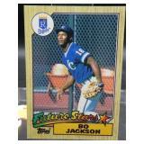 Bo Jackson Rookie Card 1987 Topps Card #170
