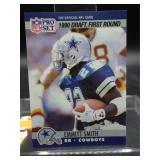 1990 NFL Pro Set Emitt Smith Rookie Card #685