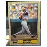 Barry Bonds Rookie Card 1987 Topps Card #320