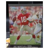 Joe Montana 1991 Fleer Ultra Card #251