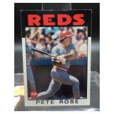 Pete Rose 1986 Topps Card #1
