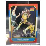 1986 Fleer Magic Johnson Card #53 of 132