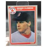 Rare 1985 Fleer Rogers Clemens Rookie Card #155