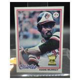 1978 Topps Rookie Eddie Murray Rookie Card #36