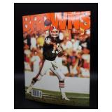 1989 Cleveland Browns Official Yearbook