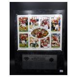 Super Bowl XXIX Champions 49ers Plaque