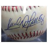 1990 All-Star Baseball Signed by Sandy Alomar Jr
