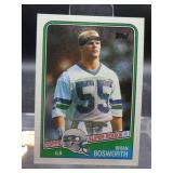 1988 Topps Brian Bosworth Rookie Card #144