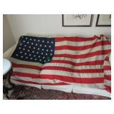 Original 46 Star U.S. Flag