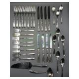 34pc Silver Set with Case