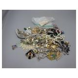 Bag of Various Costume Jewelry Items #1
