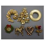 7 Various Pins/Brooches